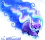 Daily Paint 2048# Aurora Boarealis