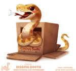 Daily Paint 2050# Hissing Booth