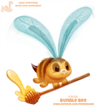 Daily Paint 2056# Bunble Bee