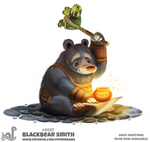Daily Paint 2057# Blackbear Smith