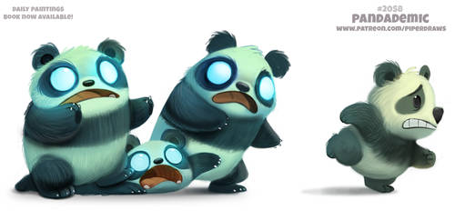 Daily Paint 2058# Pandademic