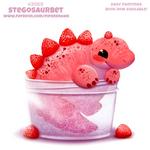 Daily Paint #2068. Stegosaurbet