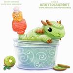 Daily Paint #2069. Ankylosaurbet