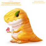 Daily Paint #2070. Tyranasaurbet