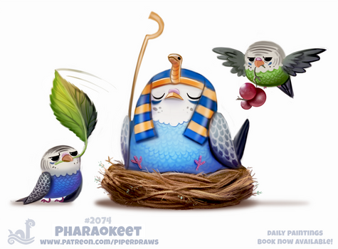 Daily Paint #2074. Pharaokeet