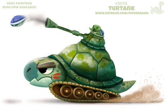Daily Paint #2076. Turtank