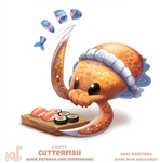 Daily Paint #2077. Cutterfish
