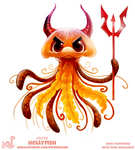 Daily Paint #2079. Hellyfish