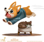 Daily Paint #2081. Barkour