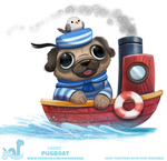 Daily Paint #2082. Pugboat