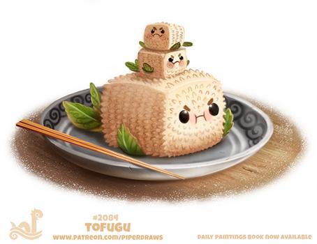 Daily Paint 2084. Tofugu
