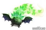 Daily Paint 2094. Cauldron of Bats