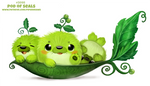 Daily Paint 2098. Pod of Seals