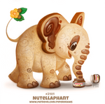 Daily Paint 2101. Nutellaphant