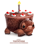 Daily Paint 2102. Torte-toise