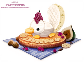 Daily Paint 2106. Platterpus