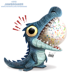Daily Paint 2112. Jawbreaker