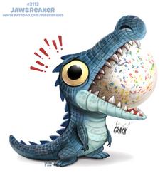 Daily Paint 2112. Jawbreaker