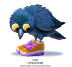 Daily Paint 2122. Velcrow