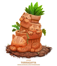 Daily Paint 2125. Terracatta by Cryptid-Creations