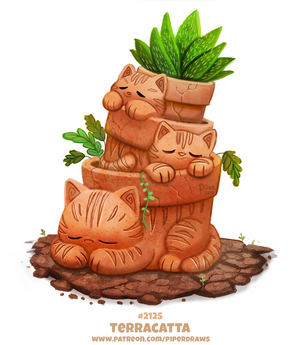 Daily Paint 2125. Terracatta