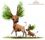Daily Paint 2129. Oakapi