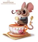 Daily Paint 2131. Mousetache