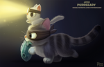 Daily Paint 2132. Purrglary by Cryptid-Creations