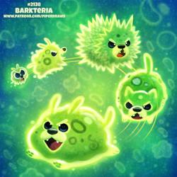Daily Paint 2138. Barkteria