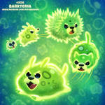 Daily Paint 2138. Barkteria by Cryptid-Creations