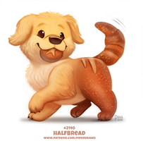 Daily Paint 2140. Halfbread