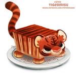 Daily Paint 2144. Tigermisu