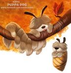 Daily Paint 2145. Puppa Dog
