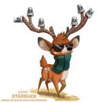 Daily Paint 2147. Starbuck