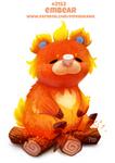 Daily Paint 2153. Embear