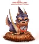Daily Paint 2158. Terrierdactyl