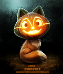 Daily Paint 2165. Pumpkit
