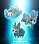 Daily Paint 2168. Hare Raising