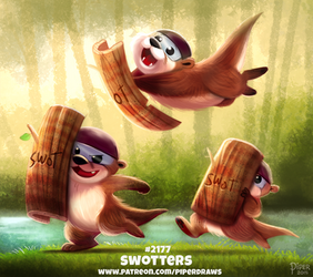 Daily Paint 2177. Swotters