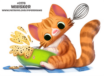 Daily Paint 2178. Whisker by Cryptid-Creations