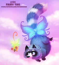 Daily Paint 2185. Fairy Tail by Cryptid-Creations