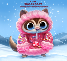 Daily Paint 2191. Sugarcoat by Cryptid-Creations