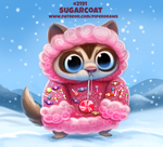 Daily Paint 2191. Sugarcoat