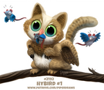 Daily Paint 2192. Hybird 1#
