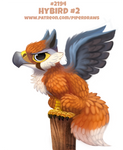 Daily Paint 2194. Hybird #2