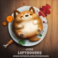 Daily Paint 2195. Leftrovers by Cryptid-Creations