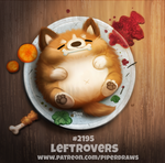 Daily Paint 2195. Leftrovers