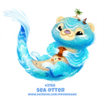 Daily Paint 2198. Sea Otter