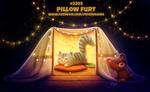 Daily Paint 2205. Pillow Furt