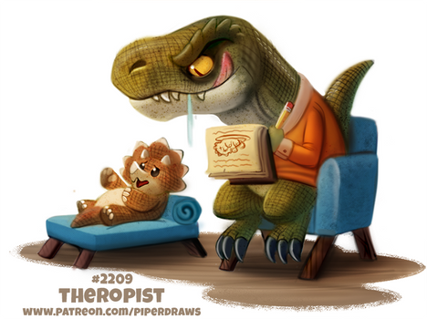 Daily Paint 2209. Theropist